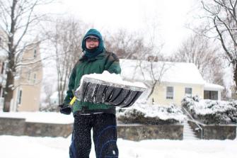 Snow Shoveling Advice!